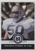 Chris Zorich Fumble Recovery