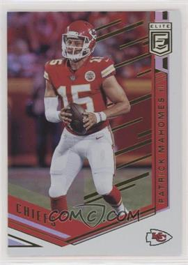 2018 Donruss Elite - [Base] #11 - Patrick Mahomes II