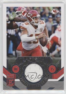 2018 Donruss Elite - Craftsman Jerseys #CJ-11 - Patrick Mahomes II