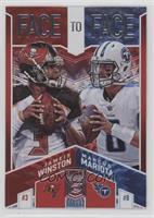 Jameis Winston, Marcus Mariota #/99