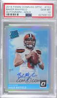 Rated Rookies - Baker Mayfield [PSA 10 GEM MT] #/99