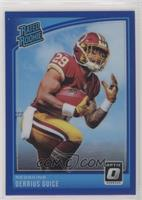 Rated Rookies - Derrius Guice #/149
