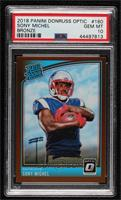 Rated Rookies - Sony Michel [PSA 10 GEM MT]