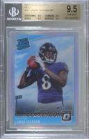 Rated Rookies - Lamar Jackson [BGS 9.5 GEM MINT]