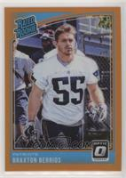 Rated Rookies - Braxton Berrios #/199