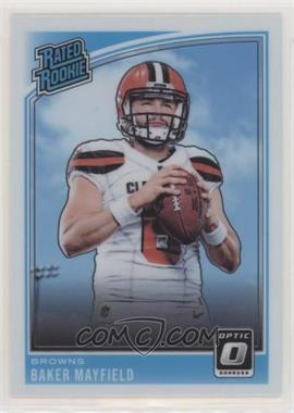 2018 Donruss Optic - [Base] #153 - Rated Rookies - Baker Mayfield