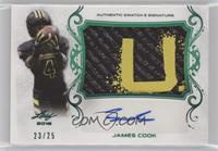 James Cook #/25