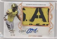 Anthony Cook /40