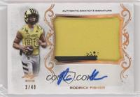 Rodrick Fisher /40