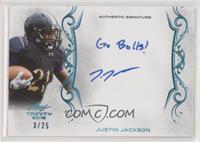 Justin Jackson #/25