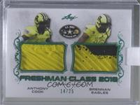 Anthony Cook, Brennan Eagles [Uncirculated] #/25