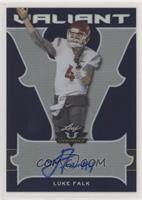 Luke Falk [Noted] #/25