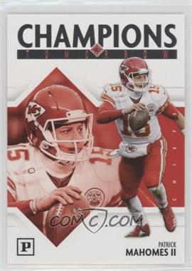2018 Panini - Champions of Tomorrow #6 - Patrick Mahomes II