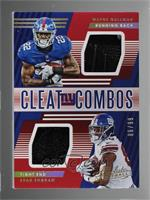 Wayne Gallman, Evan Engram #/99