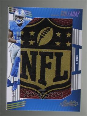 2018 Panini Absolute - Jumbo NFL Shields #JNS-24 - Kenny Golladay /9