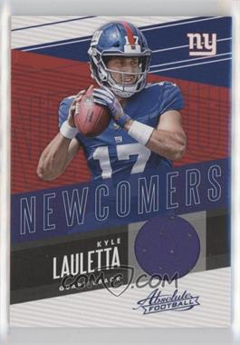 2018 Panini Absolute - Newcomers #NC-KL - Kyle Lauletta