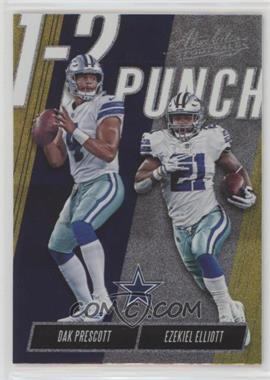big sale 60b05 fde2b 2018 Panini Absolute - One Two Punch - Spectrum Gold #OTP-DE ...