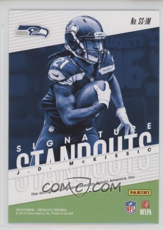 newest collection 1f96d 92f65 2018 Panini Absolute - Signature Standouts #SS-JM - J.D. ...