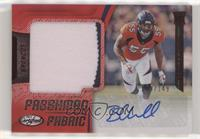 Freshman Fabric Signatures - Bradley Chubb #/149