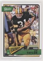 Legends - Jim Taylor #/50
