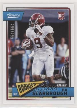 2018 Panini Classics - [Base] - Red Back #248 - Rookies - Bo Scarbrough /299