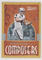 Derek Carr #/99