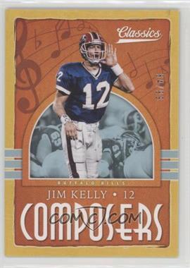 2018 Panini Classics - Composers - Gold #24 - Jim Kelly /99