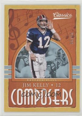2018 Panini Classics - Composers - Gold #24 - Jim Kelly /99