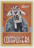 Jared Goff #/99