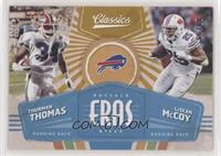 LeSean McCoy, Thurman Thomas /99