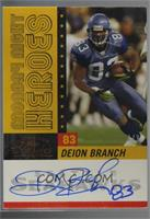 Deion Branch [Noted] #/9