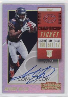 2018 Panini Contenders - [Base] - Championship Ticket #120.2 - RPS Variation - Anthony Miller /25