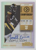 Rookie Ticket Autograph - Terrell Edmunds /49