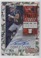 Rookie Ticket/Rookie Ticket Variation - Braxton Berrios [Noted] #/24