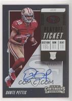 RPS Variation - Dante Pettis [Noted] #/25