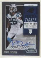 Rookie Ticket Autograph - Donte Jackson #/99