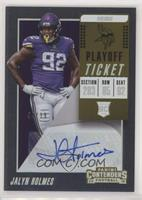 Rookie Ticket Autograph - Jalyn Holmes #/99