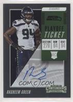 Rookie Ticket Autograph - Rasheem Green #/99