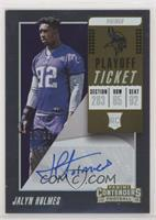 Rookie Ticket/Rookie Ticket Variation - Jalyn Holmes [Noted] #/99