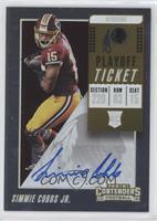 Rookie Ticket/Rookie Ticket Variation - Simmie Cobbs Jr. #/99