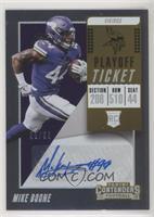 Rookie Ticket/Rookie Ticket Variation - Mike Boone #/99