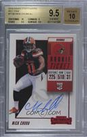 Rookie Ticket RPS Variation - Nick Chubb [BGS 9.5 GEM MINT]