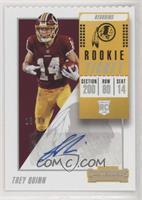 Rookie Ticket - Trey Quinn #/14