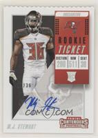 Rookie Ticket/Rookie Ticket Variation - M.J. Stewart #/36