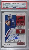 Rookie Ticket RPS - Josh Allen [PSA 9 MINT]