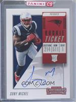 Rookie Ticket RPS - Sony Michel [Uncirculated]