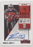 Rookie Ticket RPS - Ronald Jones II