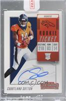 Rookie Ticket RPS - Courtland Sutton [Uncirculated]