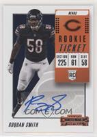 Rookie Ticket Autograph - Roquan Smith