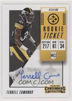 Rookie Ticket Autograph - Terrell Edmunds